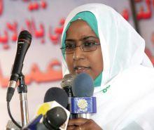 وزيرة الرعاية والضمان الاجتماعي تنتقد الحصار والتدابير الأحادية على السودان