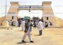 وزير تجارة السودان يتفقد سير العمل بمعبر «أشكيت - قسطل» على حدود مصر