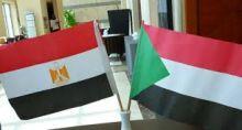 السودان ومصر علم