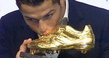رونالدو يفوز بالحذاء الذهبي للمرة الثالثة