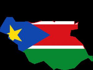 جنوب السودان خريطة