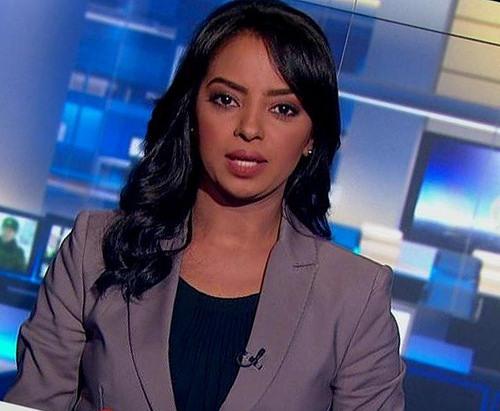 المذيعة السودانية بقناة الجزيرة ميادة عبده