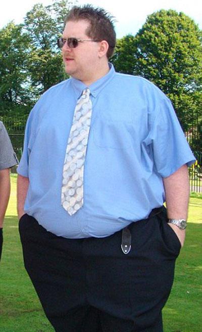 رجل سمين