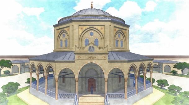 ضريح  سليمان شاه