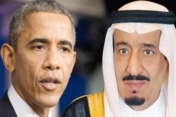الملك سلمان و أوباما