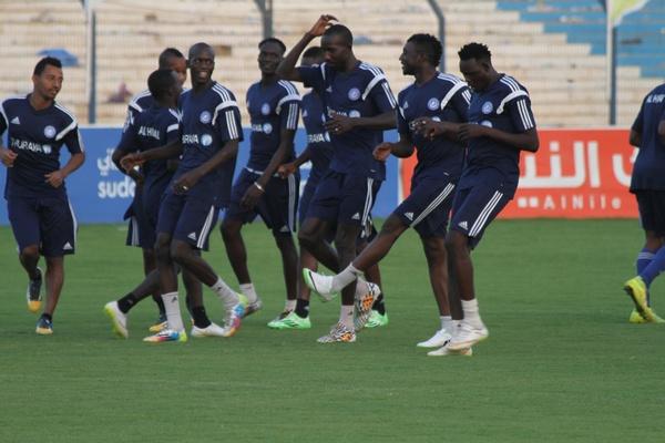 الهلال السوداني تدريب