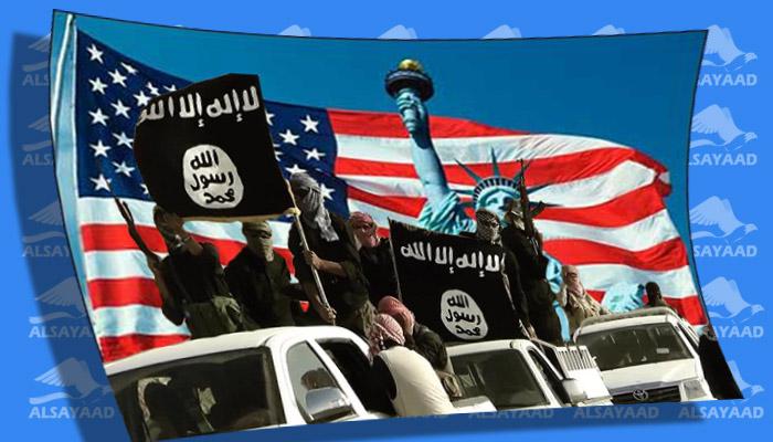داعش و أمريكا