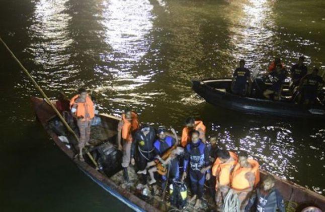 غرق مركب في النيل