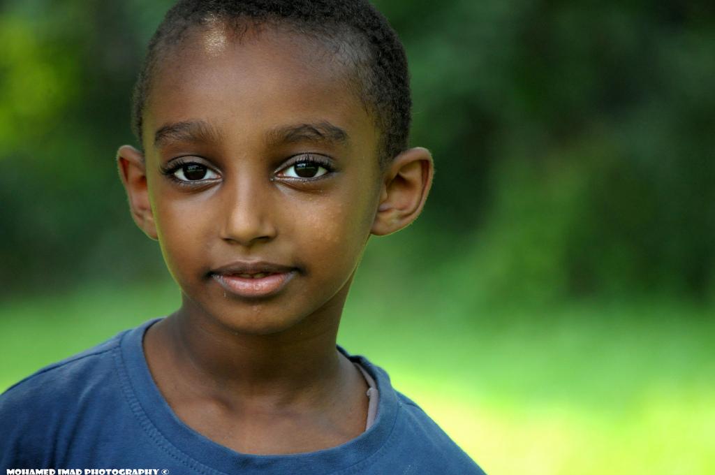 طفل سوداني
