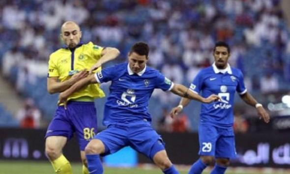 مباراة الهلال والنصر السوبر السعودي