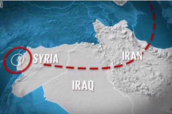 إختفاء سوريا والعراق عن الخريطة