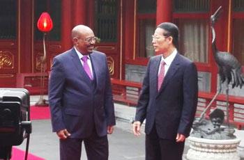البشير والصين