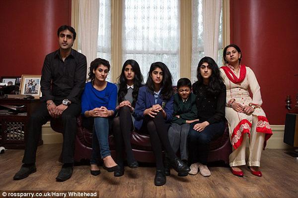 عائلة مسلمة