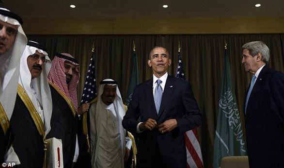 أوباما يتأخر عن وقوف الحداد
