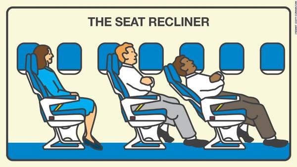 ركاب الطائرات الأكثر إزعاجاً