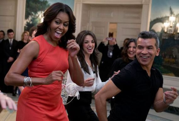 زوجة اوباما