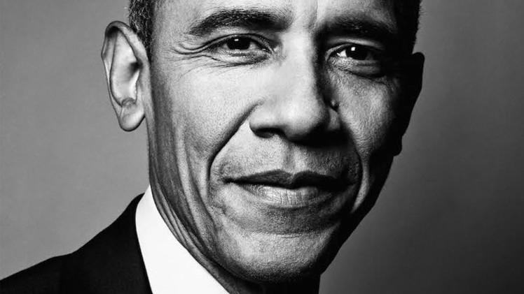 صورة اوباما تظهر على غلاف مجلة