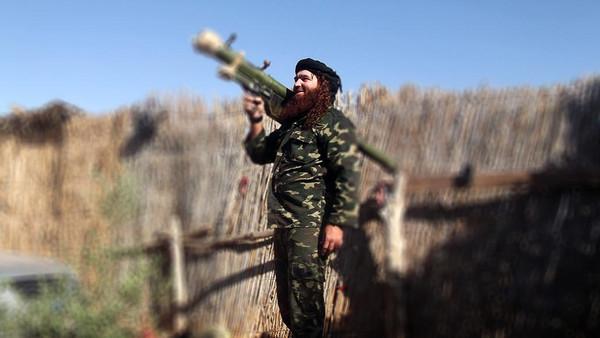 عناصر من داعش في سيناء