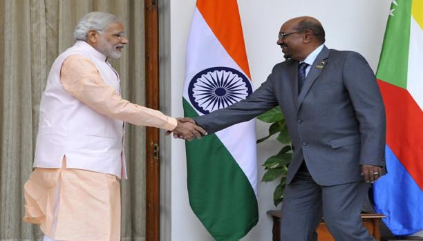 البشير والهند
