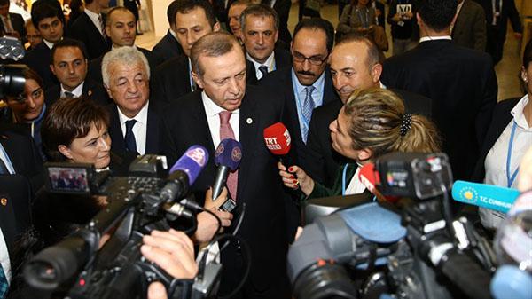 اردوغان والصحفي