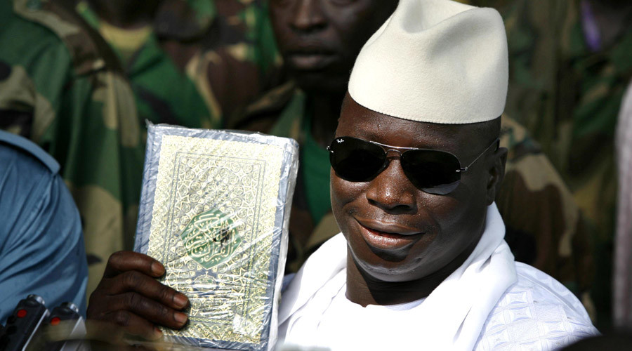 رئيس غامبيا يحيى جمعة