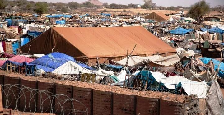 مخيم في تشاد