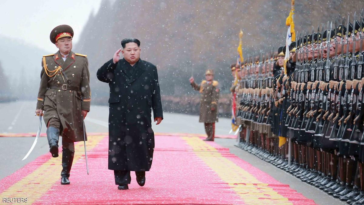North Korean leader Kim Jong Un salutes during a visit to the Ministry of the People's Armed Forces on the occasion of the new year, in this undated photo released by North Korea's Korean Central News Agency (KCNA) on January 10, 2016.  REUTERS/KCNA ATTENTION EDITORS - THIS PICTURE WAS PROVIDED BY A THIRD PARTY. REUTERS IS UNABLE TO INDEPENDENTLY VERIFY THE AUTHENTICITY, CONTENT, LOCATION OR DATE OF THIS IMAGE. FOR EDITORIAL USE ONLY. NOT FOR SALE FOR MARKETING OR ADVERTISING CAMPAIGNS. NO THIRD PARTY SALES. SOUTH KOREA OUT. NO COMMERCIAL OR EDITORIAL SALES IN SOUTH KOREA. THIS PICTURE IS DISTRIBUTED EXACTLY AS RECEIVED BY REUTERS, AS A SERVICE TO CLIENTS.