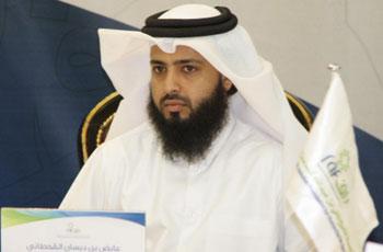 رئيس مجلس الأمناء والمدير العام لمؤسسة الشيخ ثاني بن عبدالله للخدمات الإنسانية (راف) القطرية د. عايض القحطاني