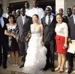 مواطنو جنوب السودان يتزوجون فتيات من دولة الصين.. Gina