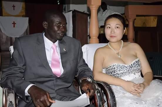 مواطنو جنوب السودان يتزوجون فتيات من دولة الصين.. Gina2
