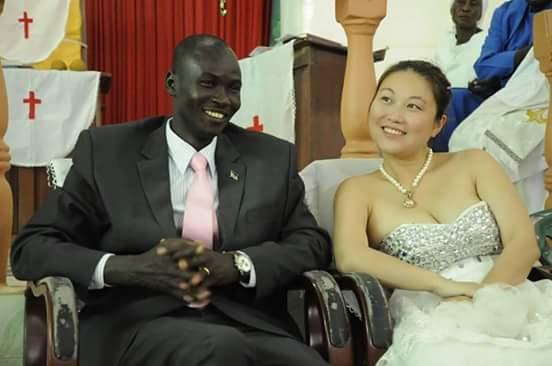 مواطنو جنوب السودان يتزوجون فتيات من دولة الصين.. Gina3
