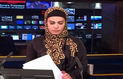 """المذيعة في شبكة """"برس تي في"""" الإيرانية، شيفا شيراني"""