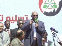 """البشير : جنوب السودان سيطرد الحركات المسلحة.. ومنتظرون قوات """"مناوي"""" القادمة من ليبيا<br />"""