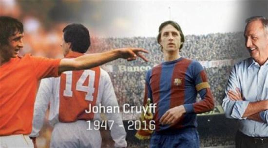 اسطورة كرة القدم الهولندية يوهان كرويف