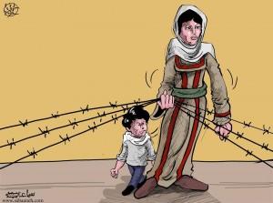 الام الفلسطينية !