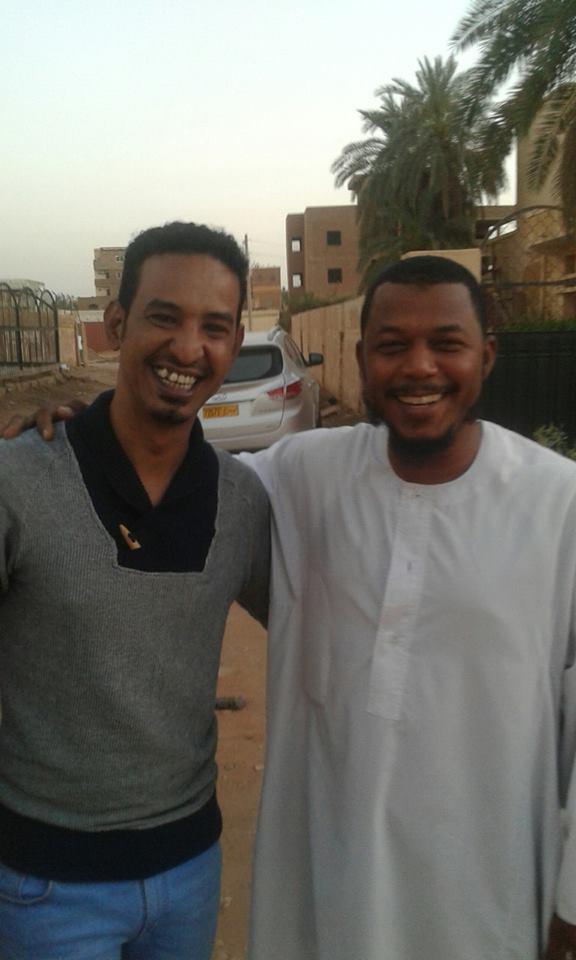 """داعية إسلامي سوداني يبدي سعادته بمقابلة الفنان طه سليمان..و""""الركشة"""" ترصد الحدث"""