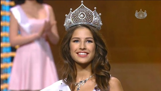 «يانا دوبروفولسكايا» ملكة جمال روسيا لعام 2016 2