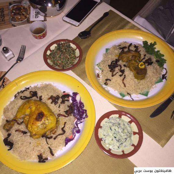 سعودي فتح مطعماً للوجبات الخليجية في مدينة الإنتاج السينمائي بأميركا 1