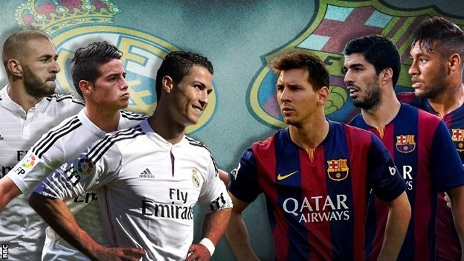 بمناسبة كلاسيكو الأرض إليكم جميع أهداف مباريات ريال مدريد وبرشلونة من عام 2000 إلي عام 2015