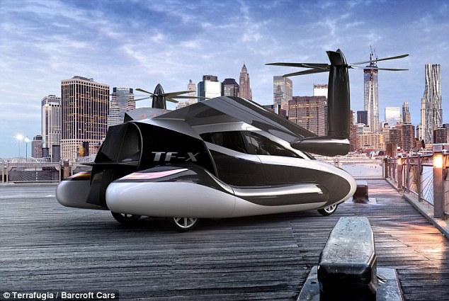 السيارة الطائرة ستصبح جاهزة بحلول 20182