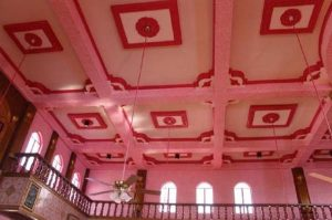 بالصور.. مسجد فريد من نوعه باللون الزهري في الفلبين1