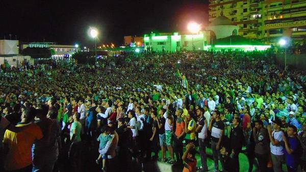 صدق أو لا تصدق..هذه ليست صور تظاهرات بمصر بل لشيء آخر
