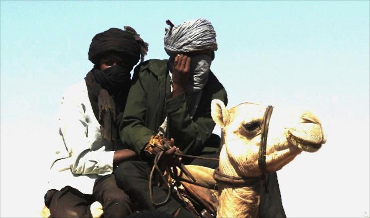 عمامة الكدمول من تراث اهل دارفور