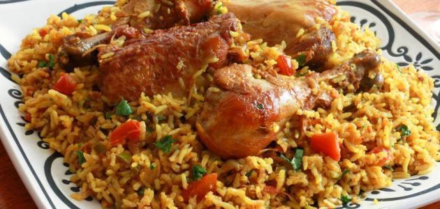مندي - اكل - دجاج - مطعم - مطاعم - رز