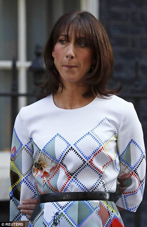 دموع زوجة «كاميرون» بعد إعلان خروج بريطانيا من الاتحاد الأوروبي1