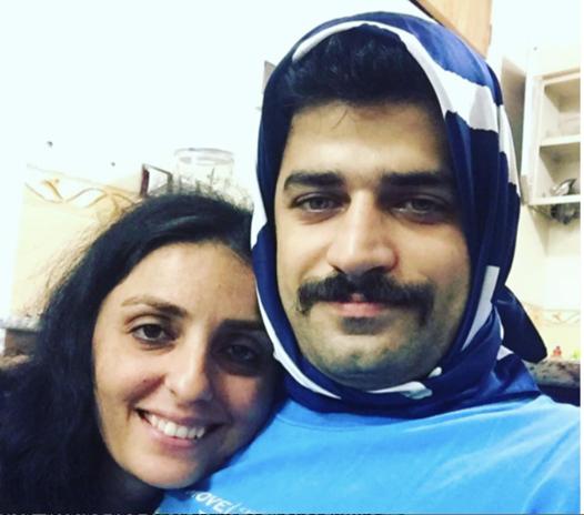 سر ارتداء رجال إيران الحجاب