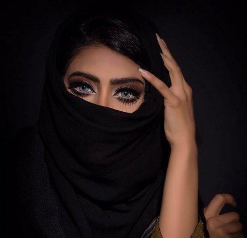 فتاة نقاب جمال ملكة نقاب