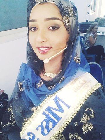 """لكنداكة السودانية نضال النعيم لحظة وقوفها أمام اللجنة في المرحلة الثانية من برنامج """"الملكة"""""""