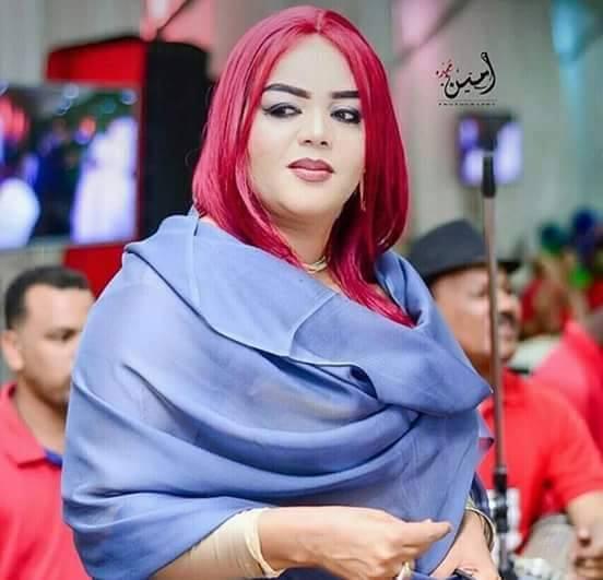 في نيولوك جديد الفنانة ندى القلعة تقلد الفنانة هيفاء وهبي وتصبغ شعرها باللون الأحمر