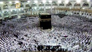 ازدحام الحرم المكي - مكة - الكعبة المشرفة